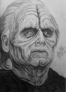 Emperor Palpatine / Darth Sidious by LaurenDahmer