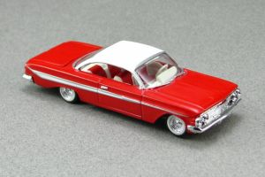 1961 Chevrolet Impala - red tf cotd - Revell by Deanomite17703cotd