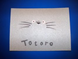 totoro post card by arockat