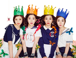 Red Velvet PNG Render by classicluv