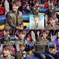 Justin Bieber Photoshoot by EstefiEditions