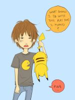 A Boy and His Pikachu by ember-snow