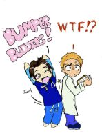 Scrubs Bumper Buddies by Graffiti2DMyHeart