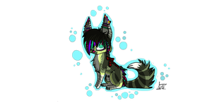 Syberdog Chibi Gift by Flame-Expression