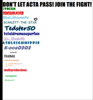 Fight ACTA! by Shadow-DJ