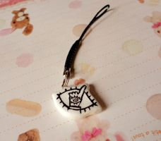 20th Century Boys Eye Charm by Shattered-Earth