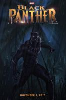 Black Panther movie poster by DComp