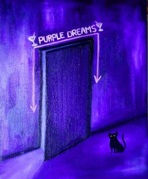 Purple dreams by WendyMitchell