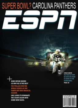 ESPN Magazine cover by youronmymind05