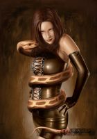 Mistress of the Snake II by royo12
