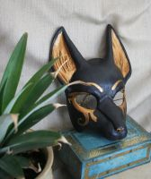 Anubis Costume Mask by nondecaf