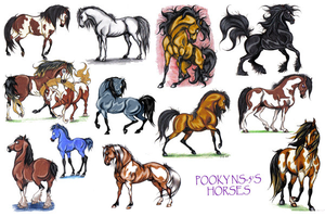 pooky's horses by pookyns-5