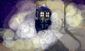The TARDIS Has Landed by ThePaintedLady143
