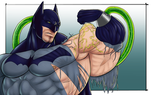 Bat-Bicep by TheDarkDjin