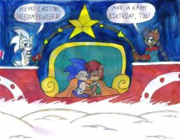 Freedomfighter4's Christmas Sleigh by Gojira007