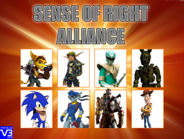My sense of right alliance by irkenartwork12