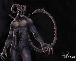 Request - Vero (Demon Form) by nickkaur