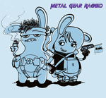 Metal Gear Rabbids by Grethe--B