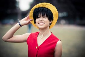 Luffy cosplay :D by SpaceLightning