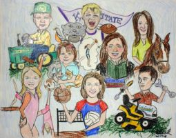Olson Family by DrKitty2010