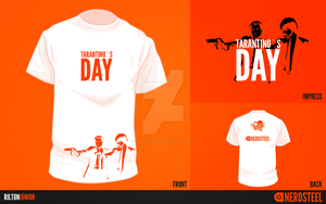 T-Shirt - Tarantino's Day by riltonjunior
