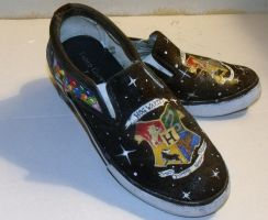 Harry Potter Shoes 4 by KAMinturnDesigns
