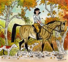 Jacqueline's ride by DianaKennedy