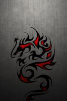 TribalDragon-on-730mesh640-960-1paper by drouell