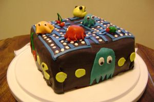 Pacman Cake 3 by BurndtCrab