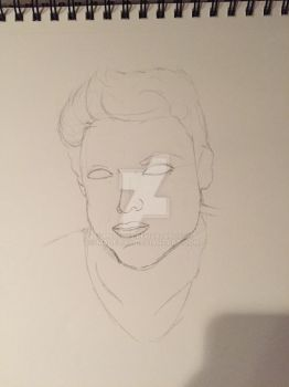 Daniel Sharman WIP by Madelixx