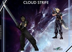 Cloud Strife_Eternal Fantasy by azumigaiden