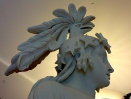 Goddess Columbia Replica - detail by 44NATHAN