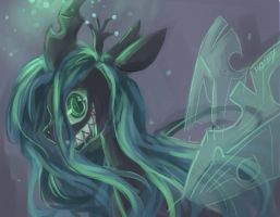 MLP: Queen Chrysalis by mosacd