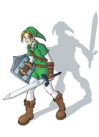 Link and his Shadow by SmilinJack