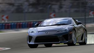 Lexus LFA '10 by Galactic-Rev