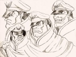 Street Fighter M.Bison - SF II V by Shadaloo1989
