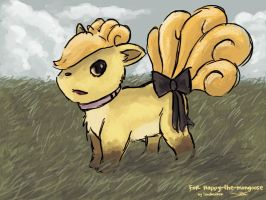 Vulpix for Happy-the-mongoose by land-walker