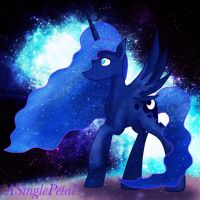 .: Princess Luna :. by ASinglePetal