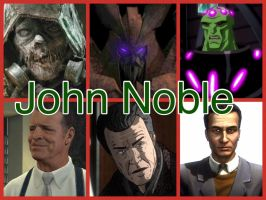 John Noble Characters by PhantomEvil