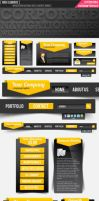 Corporate Web elements Full by Lemongraphic