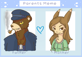The Seawell Parents. by MissBloocat
