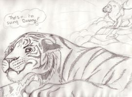 Equal rights for Tigers by B-Smitty