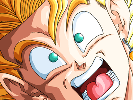 Vegetto SSJ -WhaT- RemastereD by JJJawor