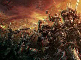 Warhammer Chaos 3-D conversion by MVRamsey