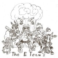 The E Team by Calmingscene