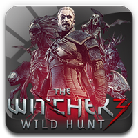 The Witcher 3 Wild Hunt - Square Icon by GoldenArrow253