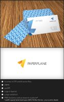 Free Logo Template - Paper Plane by genotas