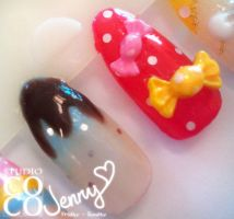 Sweety Nail Sample 3 by CandyRobot