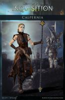 DAI Characters - Calpernia for XPS - (DOWNLOAD) by raccooncitizen