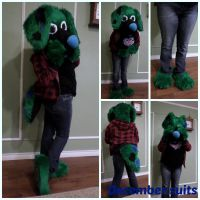 ~Green puppy by December-suits
